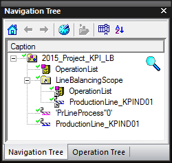 Fig. 1.Structure of the project in Navigation Tree after firs two steps.
