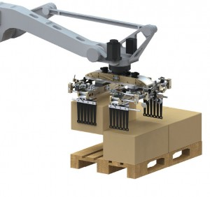 Efektory priemyselných robotov _manipulácia