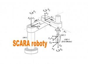 SCARA roboty