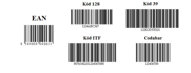Jednorozmerné čiarové kódy