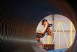 Gigantické plastové rúry frézované robotom KUKA