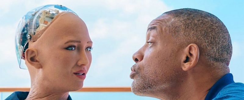 Will Smith mal RANDE S ROBOTOM Sofiou
