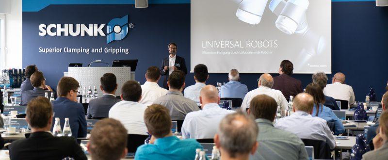 HRC kombinuje silu človeka a robota | SCHUNK
