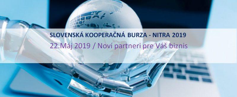 Slovenská kooperačná burza Nitra 2019