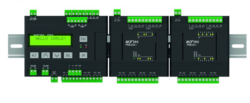 Mini PLC s vysokým potenciálom | PR200 | akYtec